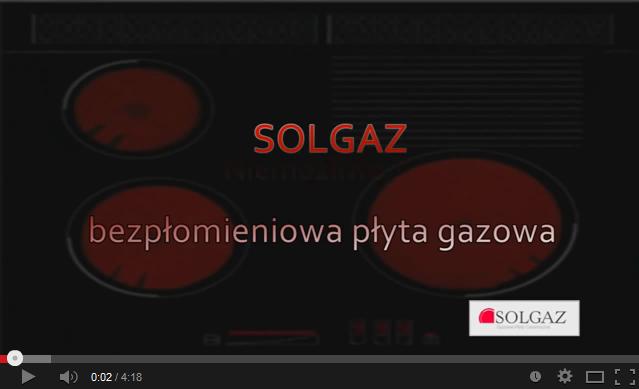 Płyta SOLGAZ GPC 3+1 na gaz z butli TIMER  AGD do zabudowy  Płyty do zabudowy -> Plyta Gazowa Do Zabudowy Gaz Z Butli