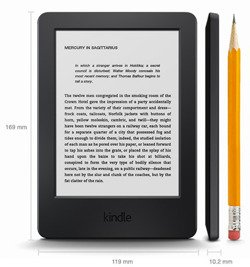 Czytnik e-Booków Amazon Kindle 7 Touch  BLACK